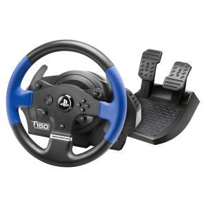 ハンドルコントローラー Thrustmaster T150 フォースフィードバック機能搭載 PS3 PS4 オフィシャルライセンス商品 【日本正規代理店保証品】 4160640-A|kirameki-syooten