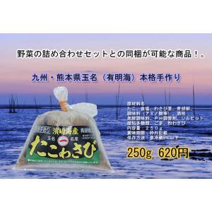 たこわさび!お酒のつまみに!九州・熊本県産☆有明海☆贈答用にも最適。 kiramekitamana