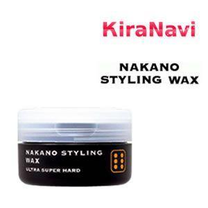ナカノ ワックス スタイリング ワックス6 ウルトラスーパーハードタイプ 90g|kiranavi