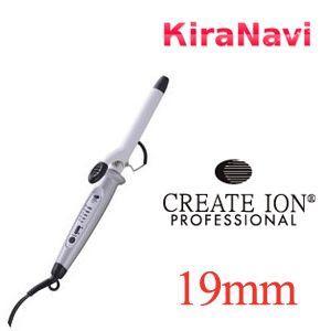 CREATE クレイツ イオン カールアイロン 19mm コテ 巻き髪 ヘアーアイロン |kiranavi