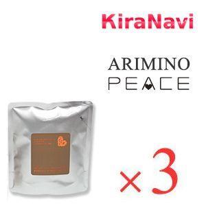 アリミノ ピース (ARIMINO) ピース ソフトワックス リフィル(詰め替え用) 80g×3袋(カフェオレ)|kiranavi