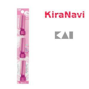 音波振動カミソリ bi-hada 顔用替刃3コ入り|kiranavi