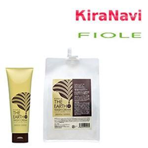 フィヨーレ ジ アース ウォッシュクリーム オリエンタルシャワー 240g 《泡の立たないシャンプー・洗い流すヘアトリートメント》|kiranavi