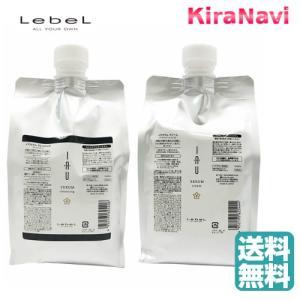 【送料無料】 ルベル イオセラム クレンジング 1000ml&クリーム 1000ml セット 詰替え用 レフィル|kiranavi