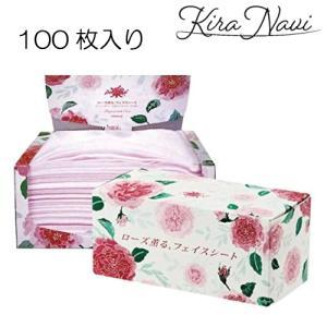 ローズ薫る フェイスシート 100枚入|kiranavi