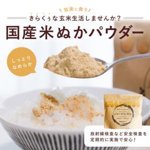 米ぬかパウダー しっとりなめらかな舌ざわり 200g