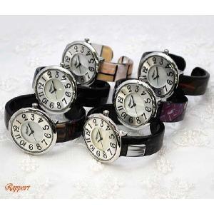 [ラポール] Rapport レディース ファッション 腕時計 プラスティック バングルウォッチ【165001】|kirara-s