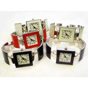[ラポール] Rapport レディース ファッション 腕時計 バングルウォッチ メタルバングル スクエア 【174118】|kirara-s