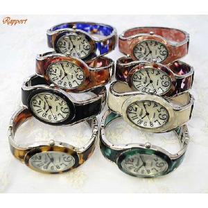[ラポール] Rapport レディース ファッション 腕時計 バングル 楕円変形|kirara-s
