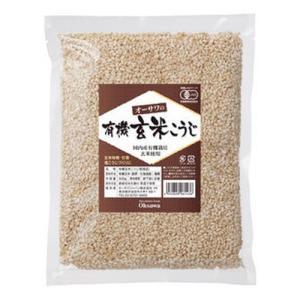 オーサワの有機乾燥玄米こうじ 500g ※メール便不可|kirarasizen