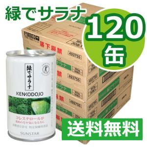 緑でサラナ(120缶)※送料無料※ラッピング不可※重量での追加料金なし(当商品に限る)|kirarasizen