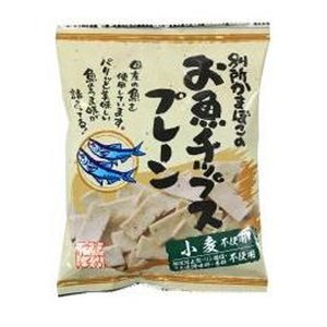 別所蒲鉾 お魚チップス・プレーン(40g)|kirarasizen