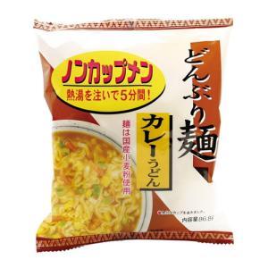 どんぶり麺・カレーうどん 86.8g×4個セット 【トーエー】 kirarasizen
