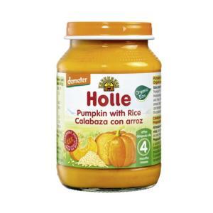 有機 かぼちゃ&ライス(瓶)190g 【Holle Baby Food】 kirarasizen