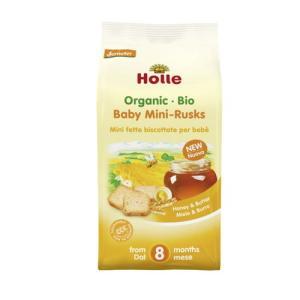 ミニラスク 100g 【Holle Baby Food】 kirarasizen