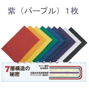 ホルミシスカラーパッド (紫パープル1枚)※詳しい使用説明書付※キャンセル不可 kirarasizen