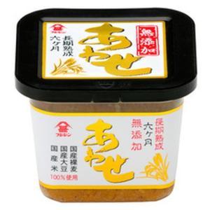 国産原料にこだわりぬいた麦と米の合わせこうじを使用したお味噌<br>
