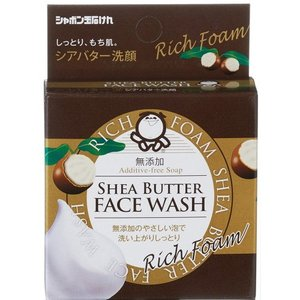 シャボン玉 シアバター洗顔せっけん 60g 【シャボン玉せっけん】 kirarasizen