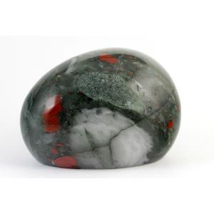 アフリカンブラッドストーン (セフトナイト) 原石 磨き 396g|kirari-ishi