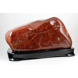 ジャスパー 置石 4.2kg 【佐渡の赤玉石】|kirari-ishi