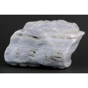 ブルーレースアゲート 原石 磨き 311g|kirari-ishi