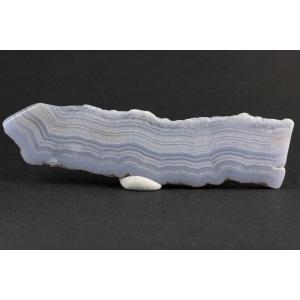 ブルーレースアゲート 原石 磨き 47g|kirari-ishi