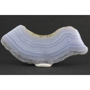 ブルーレースアゲート 原石 磨き 55g|kirari-ishi