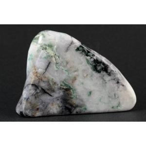糸魚川産 翡翠 原石 磨き 117g