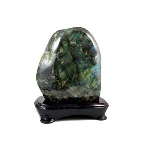 ラブラドライト 原石 置石 4.4kg|kirari-ishi