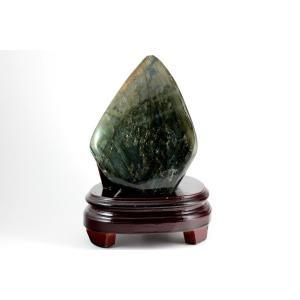 ラブラドライト 原石 磨き 681g|kirari-ishi