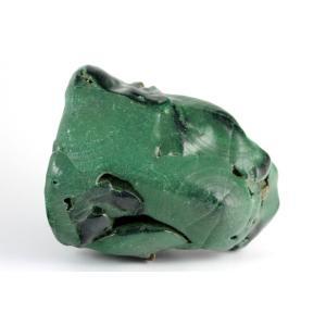 マラカイト (孔雀石) 原石 磨き 186g|kirari-ishi