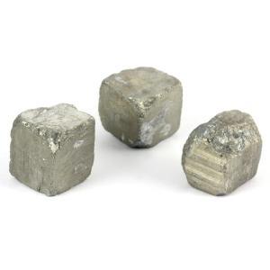 パイライト (黄鉄鉱) 原石 3個セット 58g kirari-ishi