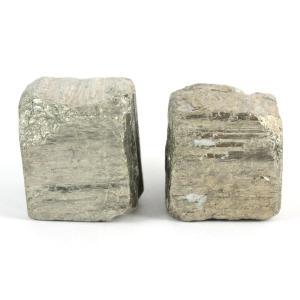 パイライト (黄鉄鉱) 原石 2個セット 60g kirari-ishi