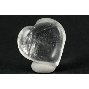 水晶 ハート型 22g|kirari-ishi