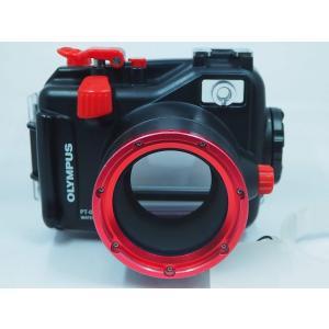 OLYMPUS デジタルカメラ XZ-1用 40m防水プロテクタ PT-050