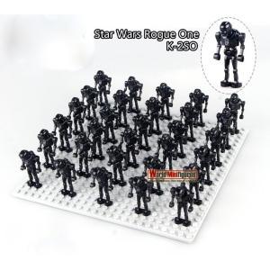スターウォーズ K−2SO   ミニフィグ 30体セット レゴ互換    写真のベースプレートは含ま...