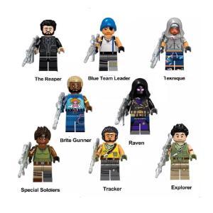 フォートナイト ミニフィグ  8体セット レゴ互換   商品はレゴと互換性がございますので、一緒に遊...