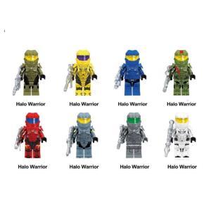フォートナイト ヘイロー   エクスプローラ ミニフィグ 8体セット LEGO互換  各ミニフィグに...