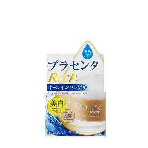 オールインワンゲルを肌になじませると、みるみる水状になり、サラサラのヒアルロン酸水に変化。 「浸透ヒ...