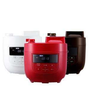 ●1台6役 かんたん電気圧力鍋 圧力調理、無水調理、蒸し調理、炊飯、スロー調理(スロークッカー)、温...