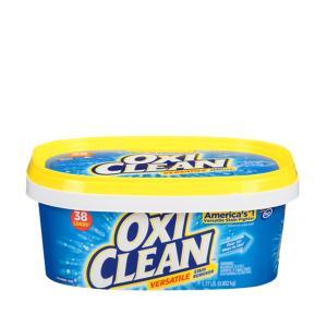 日本オリジナルパッケージの成分に洗浄成分(界面活性剤)をプラスしたオキシクリーン。 衣類の汚れはもち...