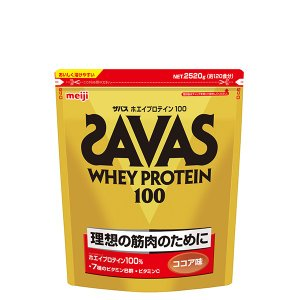 ザバス ホエイプロテイン100 ココア味 2520g (120食分) /SAVAS/ザバス【正規品】