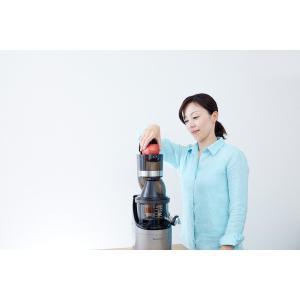 【安心10年無償保証】【送料無料】業務用 コールドプレス ジューサー クビンス ホールスロージューサー・プロ CS520SM|kirei-shop|05