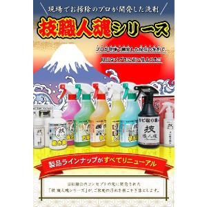 技職人魂 風呂職人 スプレーボトル 500ml 掃除 お風呂 洗剤|kirei-supple|03