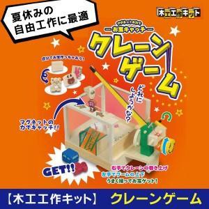 加賀谷木材 クレーンゲーム 夏休みの宿題 自由工作 工作キット