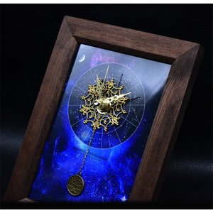 12星座の置時計  ジュエリークロック 開運 金運 金運アップ お守り 時計 置き時計 12星座からお選びください|kireinina-re