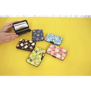 和柄アコーディオンカードケース 京都くろちく カードケース  ポスト投函で送料無料 じゃばら カード入れ カードケース|kireinina-re