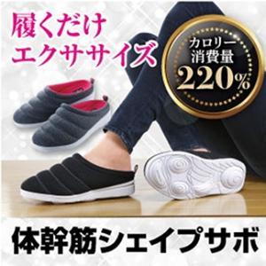 体幹筋シェイプサボ ポスト投函で送料無料 エクササイズ 体幹筋 基礎代謝 ダイエット シェイプアップ サボ 靴 スニーカー お腹 足 たるみ むくみ|kireinina-re