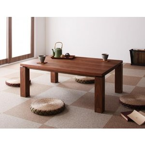 こたつ テーブル 長方形 幅105cm 家具調コタツ ウォールナット材|kireinosusume