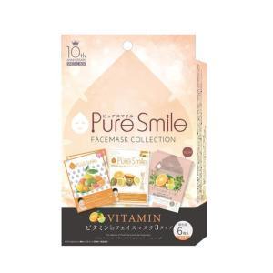 Pure Smile 10thアニバーサリーフェイスマスクコレクションです。  化粧水マスク、乳液マ...